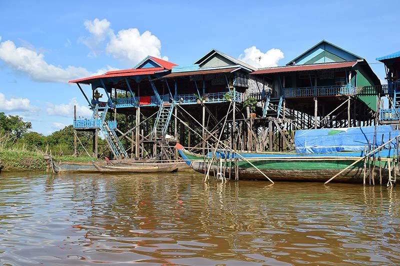 កំពង់ភ្លុក ឬ ភូមិលិចទឹក Kampong Phluk