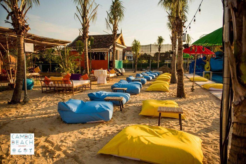 ខេមបូ បុិច ក្លឹប សៀមរាប Cambo Beach Club Siem Reap | រូបថត៖ Aforative Media